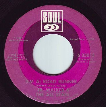 JR WALKER & ALL STARS - ROAD RUNNER - SOUL
