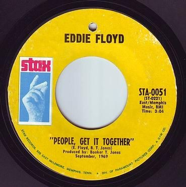 EDDIE FLOYD - PEOPLE GET IT TOGETHER - STAX
