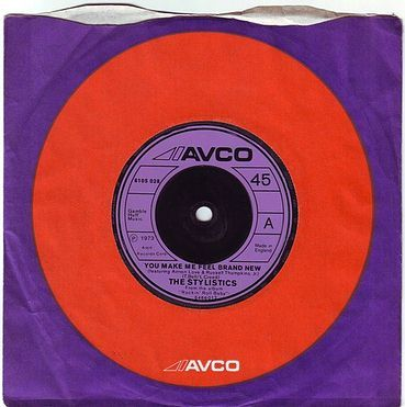 STYLISTICS - YOU MAKE ME FEEL BRAND NEW - AVCO