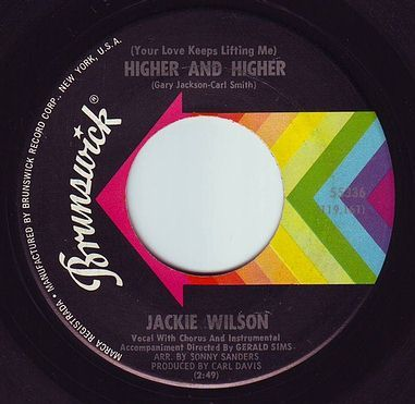 JACKIE WILSON - HIGHER AND HIGHER - BRUNSWICK