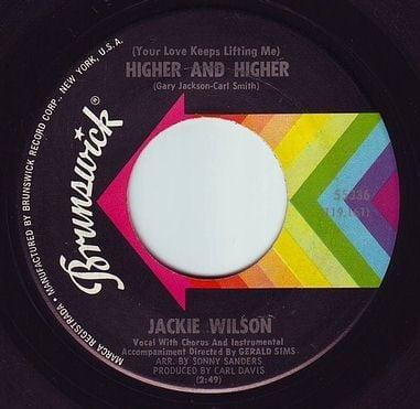 JACKIE WILSON - HIGHER AND HIGHER - BRUNSWICK