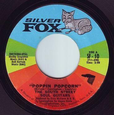 SOUTH STREET SOUL GUITARS - POPPIN POPCORN - SILVER FOX