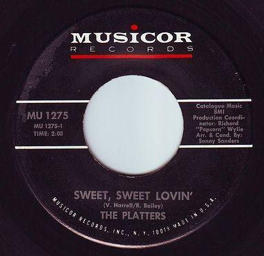 PLATTERS - SWEET SWEET LOVIN' - MUSICOR