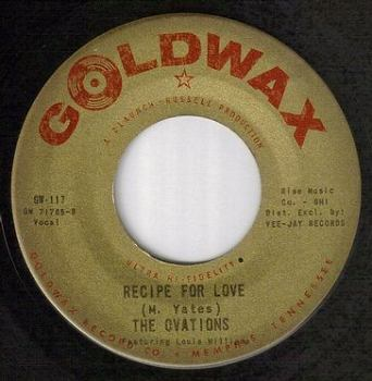 OVATIONS - RECIPE FOR LOVE - GOLDWAX