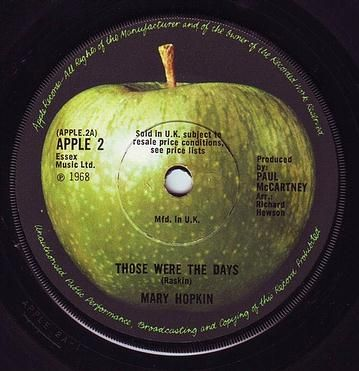 MARY HOPKIN - THOSE WERE THE DAYS - APPLE