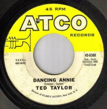 TED TAYLOR - DANCING ANNIE - ATCO