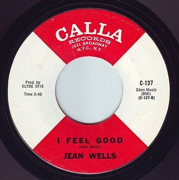 JEAN WELLS - I FEEL GOOD - CALLA