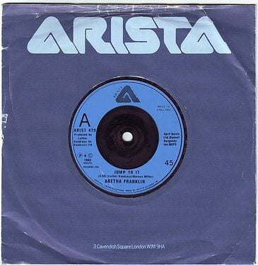 ARETHA FRANKLIN - JUMP TO IT - ARISTA