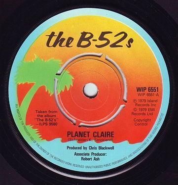 B52s - PLANET CLAIRE - ISLAND