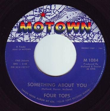FOUR TOPS - SOMETHING ABOUT YOU - MOTOWN