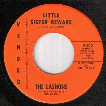LASHONS - LITTLE SISTER BEWARE - VENDED dj
