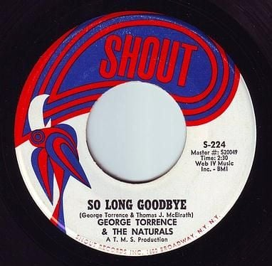 GEORGE TORRENCE - SO LONG GOODBYE - SHOUT