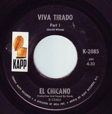 EL CHICANO - VIVA TIRADO - KAPP