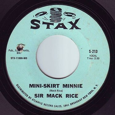SIR MACK RICE - MINI SKIRT MINNIE - STAX