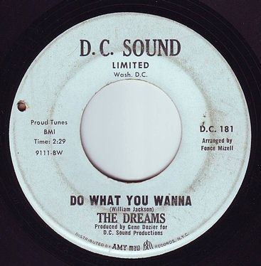 DREAMS - DO WHAT YOU WANNA - D.C. SOUND