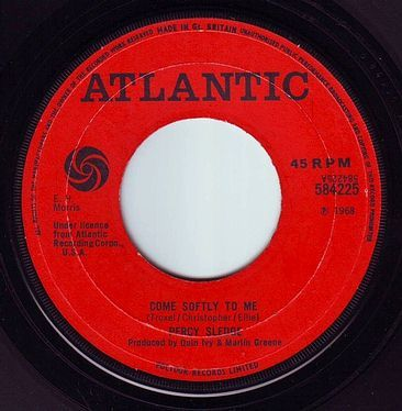 PERCY SLEDGE - COME SOFTLY TO ME - ATLANTIC