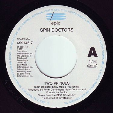 SPIN DOCTORS - TWO PRINCES - EPIC