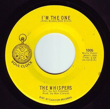 WHISPERS - I'M THE ONE - SOUL CLOCK