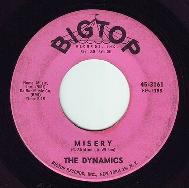 DYNAMICS - MISERY - BIGTOP