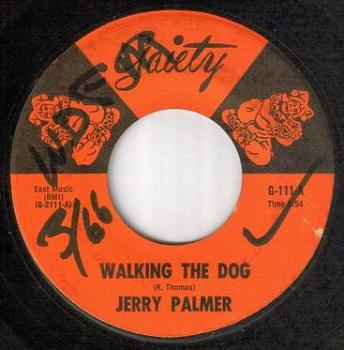 JERRY PALMER - WALKING THE DOG - GAIETY