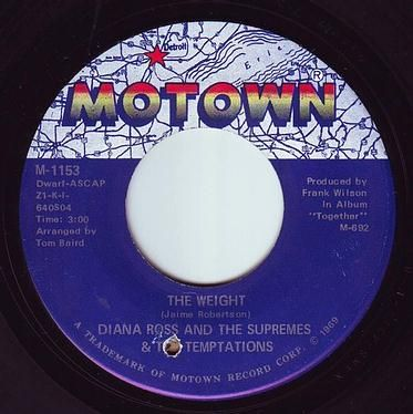 D.ROSS & SUPREMES & The TEMPTATIONS - THE WEIGHT - MOTOWN