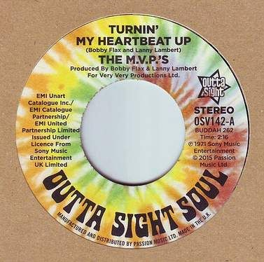 M.V.P.'S - TURNIN' MY HEARTBEAT UP - OUTTA SIGHT SOUL