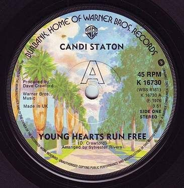 CANDI STATON - YOUNG HEARTS RUN FREE - WB
