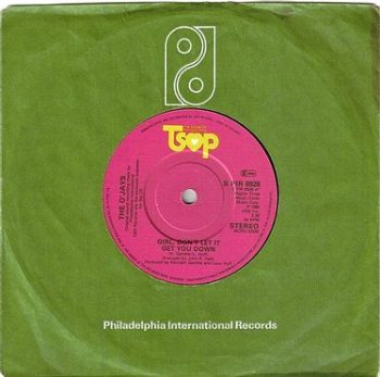 O'JAYS - GIRL, DON'T LET IT GET YOU DOWN - TSOP