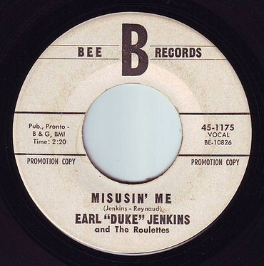 "EARL ""DUKE"" JENKINS - MISUSIN' ME - BEE DEMO"