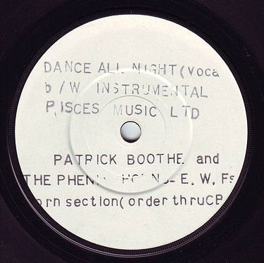 PATRICK BOOTHE - DANCE ALL NIGHT - STREETWAVE DEMO
