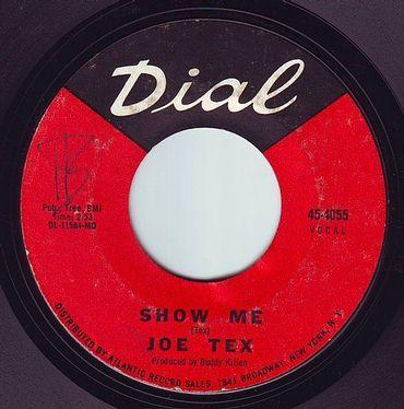 JOE TEX - SHOW ME - DIAL