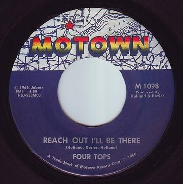 FOUR TOPS - REACH OUT I'LL BE THERE - MOTOWN
