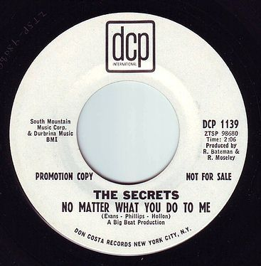 SECRETS - NO MATTER WHAT YOU DO TO ME - DCP DEMO
