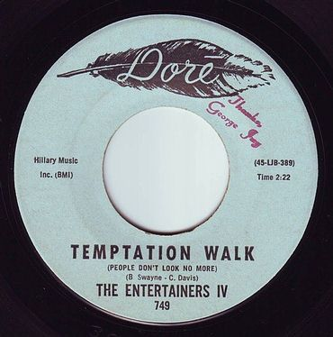 ENTERTAINERS IV - TEMPTATION WALK - DORE
