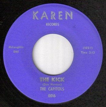 CAPITOLS - THE KICK - KAREN