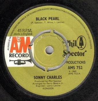 SONNY CHARLES - BLACK PEARL - A&M