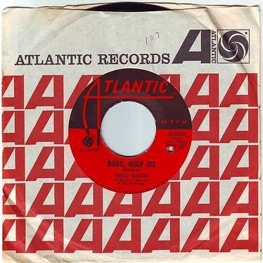 PERCY SLEDGE - BABY HELP ME - ATLANTIC