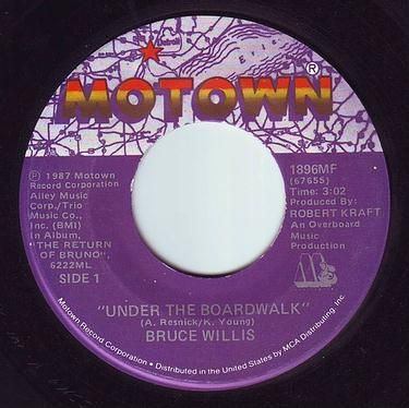BRUCE WILLIS - UNDER THE BOARDWALK - MOTOWN