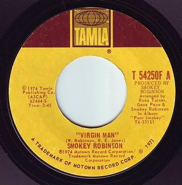 SMOKEY ROBINSON - VIRGIN MAN - TAMLA