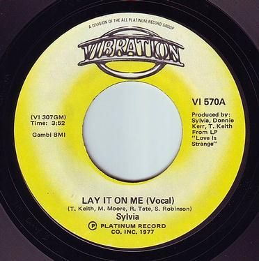 SYLVIA - LAY IT ON ME - VIBRATION