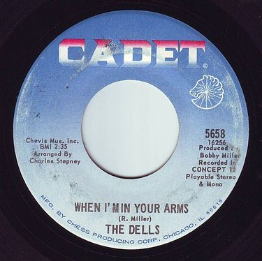 DELLS - WHEN I'M IN YOUR ARMS - CADET
