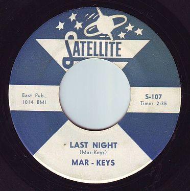 MAR-KEYS - LAST NIGHT - SATELLITE