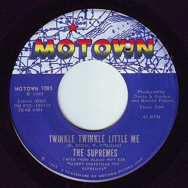 SUPREMES - TWINKLE TWINKLE LITTLE ME - MOTOWN