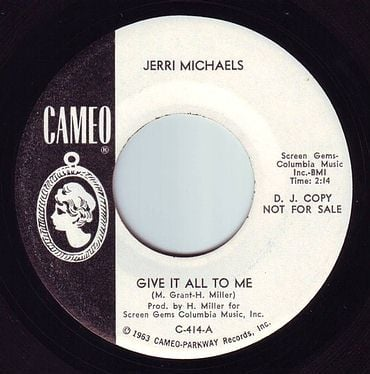 JERRI MICHAELS - GIVE IT ALL TO ME - CAMEO DEMO