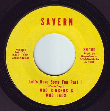 MOD SINGERS & MOD LADS - LET'S HAVE SOME FUN - SAVERN