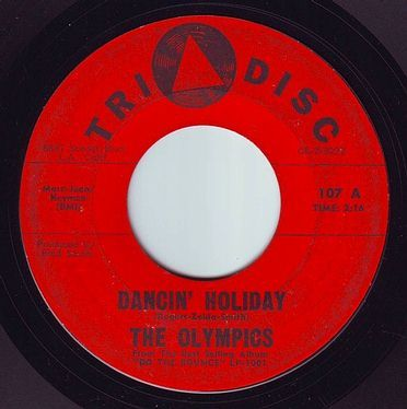 OLYMPICS - DANCIN' HOLIDAY - TRI DISC