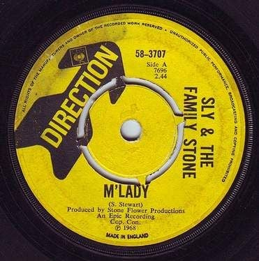 SLY & THE FAMILY STONE - M'LADY - DIRECTION