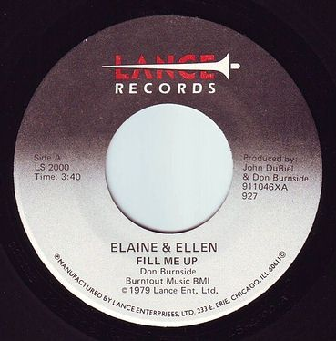 ELAINE & ELLEN - FILL ME UP - LANCE