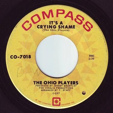 OHIO PLAYERS - IT'S A CRYING SHAME - COMPASS