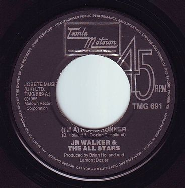 JR WALKER & THE ALL STARS - ROAD RUNNER - TMG 691